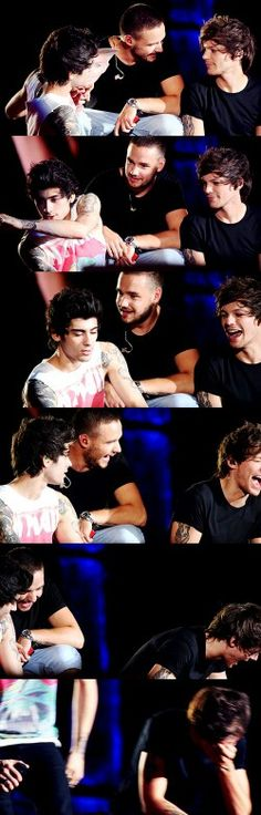 That laugh in smile is priceless louis