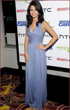 selena gomez dresses | ... Lavender Evening Dress in Selena Gomez | Beautiful Fashion Dresses