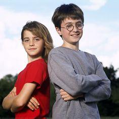 """やっぱ2000年公開""""賢者の石""""のハリーポッターだよな~These Early 'Harry Potter' Publicity Photos Rule the World"""
