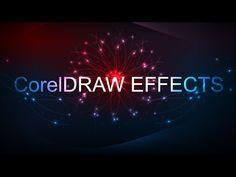 CorelDraw - How To Make a Background Light Effects In Corel Draw Corel Draw Tutorial, Tech Hacks, 3d Logo, Light Effect, Inspirational Videos, Lights Background, Coreldraw, Neon Lighting, 3d Design