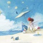 Kim Min Ji, Illustration, Projects, Painting, Log Projects, Blue Prints, Painting Art, Paintings, Illustrations