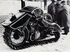 1936 Bmw snow motorcycle