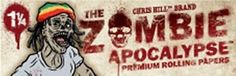 Get it on http://Papr.Club - Zombie Apocalypse Razz Willits 1¼ Cigarette Rolling Papers…
