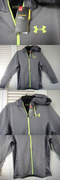 e6a55448fb5f Sweatshirts and Hoodies 155200  Under Armour Loose ( Storm 1) Water  Resistant Jacket Size Boys Youth-Xl -  BUY IT NOW ONLY   42.95 on eBay!