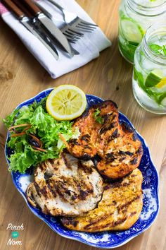 chicken cooked - Syn Free BBQ Chicken Steaks | Slimming World-2