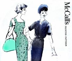 50s Mad Men Dress & Jacket sewing pattern by allthepreciousthings, $24.00