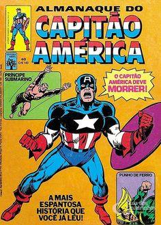 Capitão América n° 40/Abril | Guia dos Quadrinhos