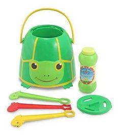 Tootle Turtle Bubble Bucket  Item #: 6141    Price: $12.99