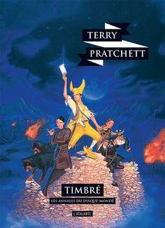 Nouvelle édition ! Timbré de Terry Pratchett, Les Annales du Disque-monde (livre 33, 2018) ©Paul Kidby / Leraf