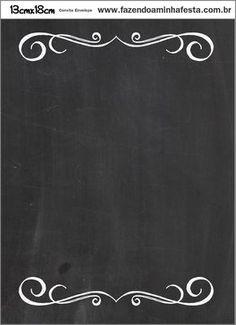 z quadro negro Mais Chalkboard Designs, Chalkboard Art, Blackboard Wall, Schriften Download, Menu Vintage, Chalkboard Wallpaper, Chalk Lettering, Borders And Frames, Blackboards