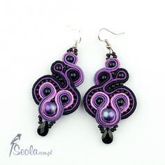 Purple earings!