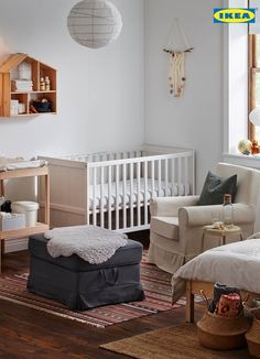 Keep your nursery organized with our FLISAT doll's house wall shelf. Perfect to keep your odds and ends organized and add that playful touch to your baby's room.