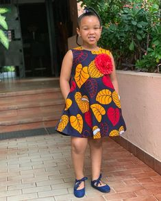 Beautiful and Trendy Ankara Styles for kids African Dresses For Kids, African Maxi Dresses, Latest African Fashion Dresses, African Attire, Little Girl Dresses, Ankara Fashion, Kids Dress Wear, Kids Gown, Baby African Clothes