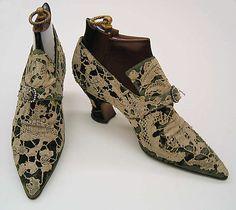 [French] Silk Pumps (1914–1919)