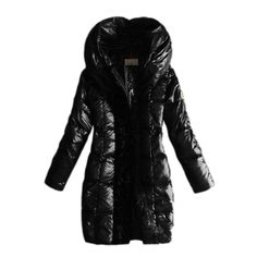 France Moncler Long Down Black Coat Women Sale