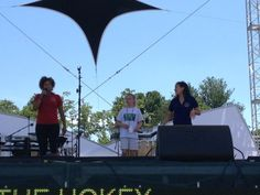 Olympic figure skater Michelle Kwan did the Hokey Pokey to remind girls to stay fit!