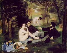 Eduard Manet 1862 Śniadanie na trawie