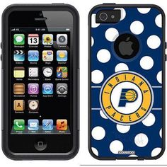 Philadelphia 76ers Basketball Design on OtterBox Commuter Series Case for Apple iPhone 5SE/5s/5, Multicolor