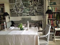 Swedish home, monochromes.