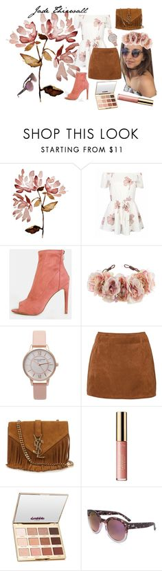 """jade"" by ali-tomlinson21 on Polyvore featuring Rock 'N Rose, Olivia Burton, Yves Saint Laurent, tarte and Dot Dash"
