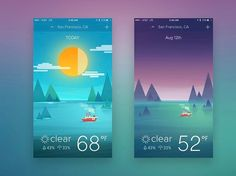 Fantastic and colorful weather app by Han Yu. - - - - - #UI #UX #uidesign #uxdesign #userexperience #userinterface #experiencedesign #interfacedesign #hci #app #appdesign #mobiledesign #mobileappdesign #photoshop #behance #ilustrator #aftereffects #design #wireframe #mobileapp #interactiondesign #digitaldesign #graphicdesign #webdesign #web #webapp #websitedesign #mobileapps #social