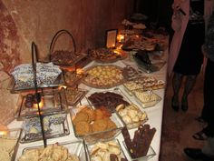 pittsburgh cookie table!