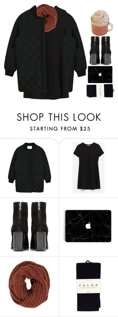 """4706"" by tiffanyelinor ❤ liked on Polyvore featuring rag & bone, mbyM and Falke"