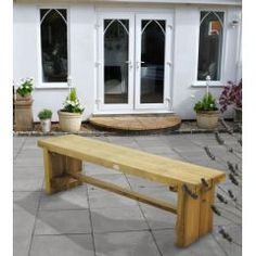 Buy Forest Garden Double Sleeper Bench 15m at Guaranteed Cheapest Prices with Rapid Delivery available now at Greenfingers.com, the UK's #1 Garden Furniture Store
