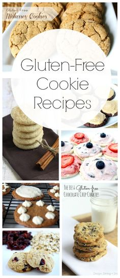 Gluten Free Cookies To Try - Design, Dining Diapers #glutenfree #recipes #healthy #gluten #recipe