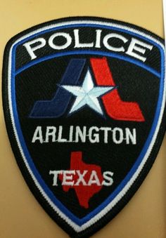 Arlington Texas Police Patch