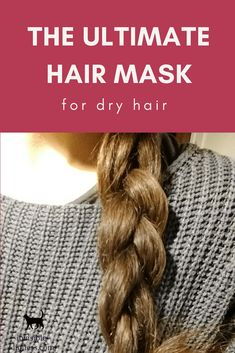 Growing long hair, but not so happy with how dry your hair is? Check out this DIY hair mask for dry hair! This homemade mask is the perfect little helper if you are struggling with dry and frizzy hair! Diy Hair Mask For Dry Hair, Natural Hair Styles For Black Women, Long Hair Styles, Diy Masque, Hair Care Recipes, Hair Care Brands, Diy Hair Care, Beauty Advice, Beauty Hacks