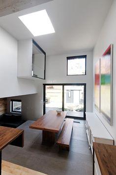 St. Hubert, reforma de una vivienda en Montreal por naturehumaine