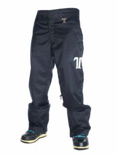 New 2013 Mens Technine Chino Shell Snowboard Pants X-Large Black XL