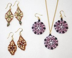 Keepshape Earrings - Beads and supplies, classes, repairs, Bead In Hand