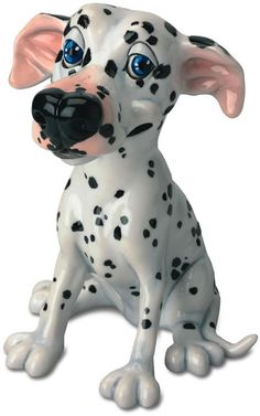 Saffy the Dalmatian Dog Statue-Sculpture-Figurine The fun and friendly members of the Pets with Personality Collection have been affectionately designed with love and a contagious sense of humor. Any one of these charming characters will be delighted to live in your home or garden, but with so many irresistible personalities, you are sure to want to collect a few! New pets are added annually so the fun continues to grow!