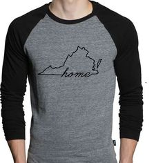 For all the Virginians ...what do you think? Working on all the states  #repost#virginiaisforlovers #virginia #home #map #cynthiascraftsinvirginia #cute #nova #perfectgift #unisex #amazon #raglan #tshirts