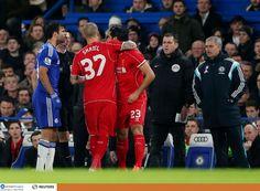 """Chelsea 1 Liverpool 0: Reds """"srdce zlomené ako absorbujúci semifinále vidí Wembley sen skončil starú nepriateľ - Emre Can vs Diego Costa v strete s manažérom Jose Mourinho - Liverpool Echo"""