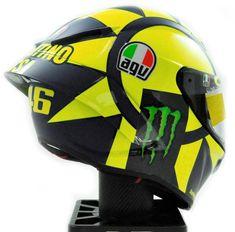 Valentino Rossi 2018 campaign AGV helmet