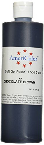 Food Coloring 183345: Americolor Soft Gel Paste Food Color 6 Ounce ...