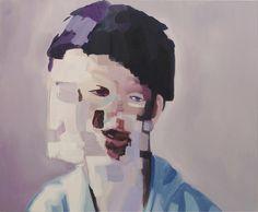 "Saatchi Art Artist: Emmet Kierans; Oil 2010 Painting ""Glitch"""