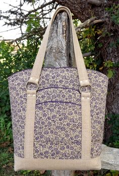 Custom-Made Large Tote by designsbyrebekah on Etsy