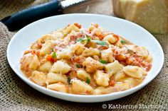 Simple & Easy Ricotta Gnocchi - Only 3 Ingredients. Make these Ricotta Gnocchi and your family will be happy.
