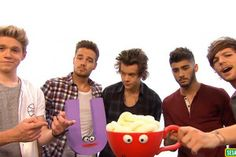 My life is complete! 1D singing 'The Letter U' On Sesame Street…