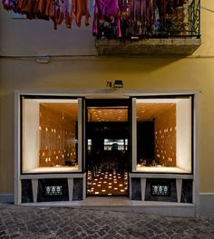 Built by joão tiago aguiar - acarquitectos in Lisbon, Portugal with date 2006. Images by FG + SG - Fernando Guerra. The restaurant is placed on the ground-floor of an old building in bairro alto, lisbon's city centre. By hosting diff...