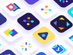 Since the start of the year I've been going non-stop. Here are just some App Icons that didn't get approved.  See attached for all.  Follow me on Twitter & Instagram