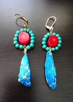Karleigh Earrings by madjewels20111 on Etsy, $88.00