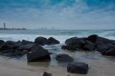 Burleigh Heads Rocks, Gold Coast, Australia