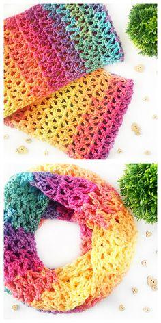 The Tempest Scarf Free Crochet Pattern Crochet For Beginners, Crochet For Kids, Free Crochet, Knit Crochet, Caron Cakes, Crochet Scarfs, Crochet Things, Bubble Bath, Cowls