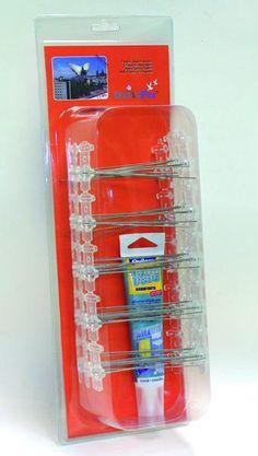 Pinchos aves (1,5 mts modelo S-80 más adhesivo en caja), CONTROL DE PLAGAS#.UXw3Z3SbttT