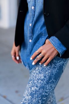 <Denim> via @vivaluxury